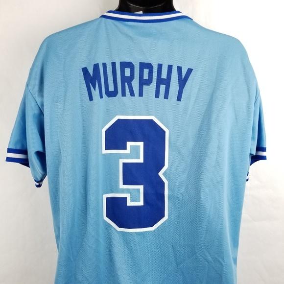 size 40 90f04 9bf4b Dale Murphy Atlanta Braves Retro Jersey 80s Shirt